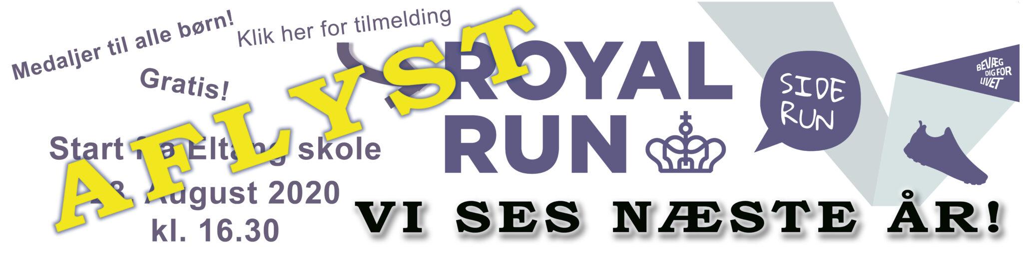 Royal run banner 2020 august aflyst