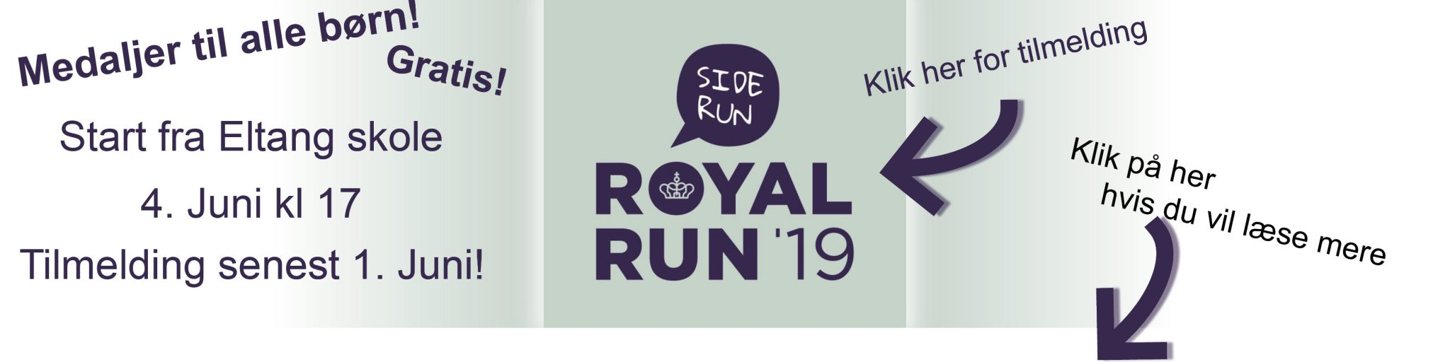 Royal run banner